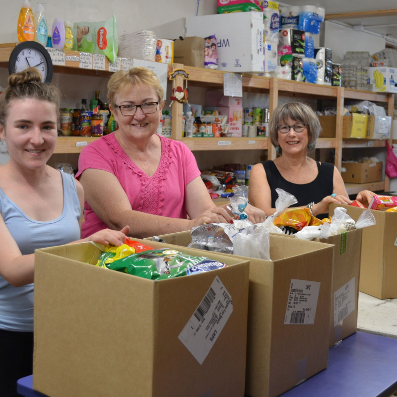 Napier people generous despite difficult year